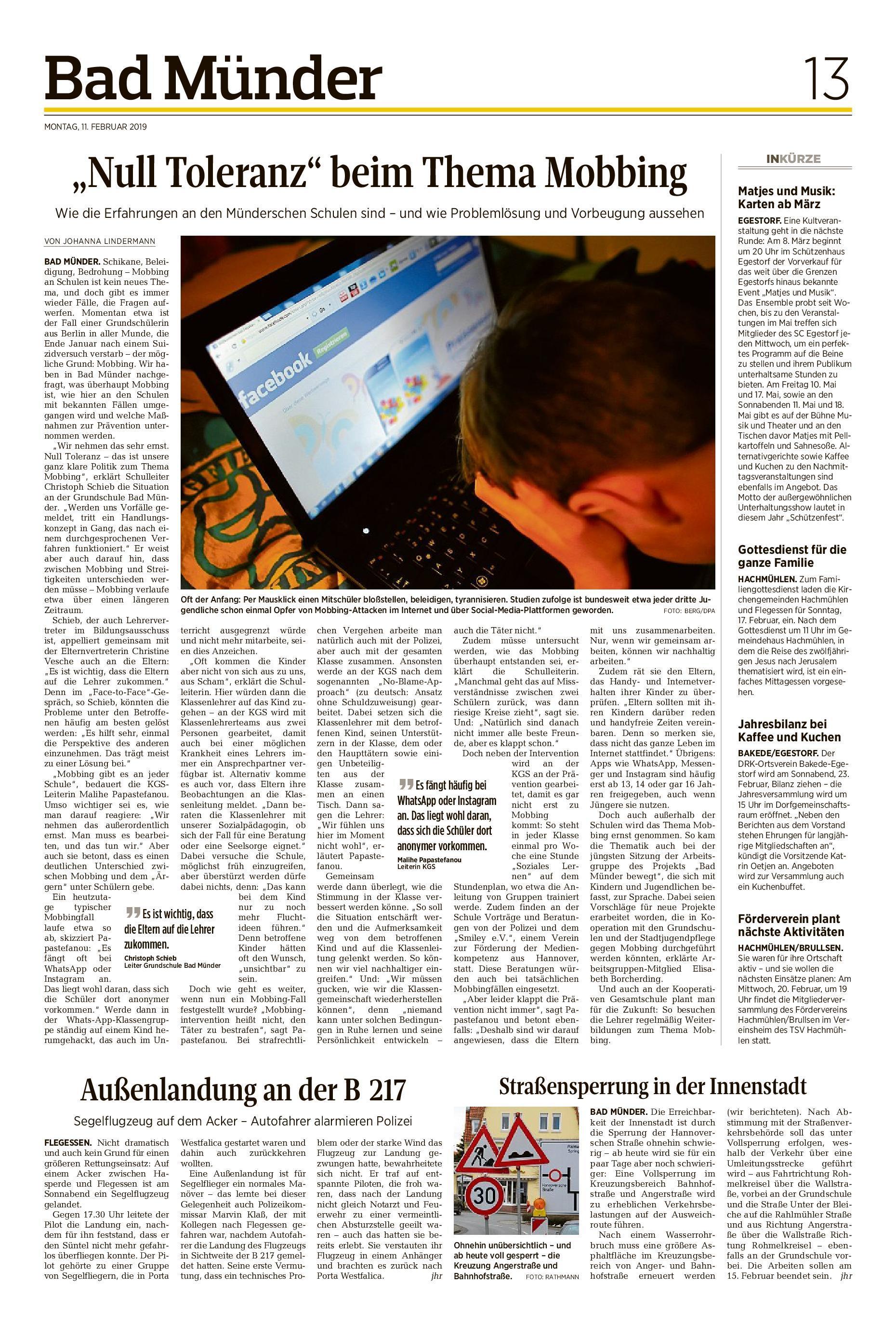 Jesus Karte Ziehen.Zeitungsarchiv Neue Deister Zeitung